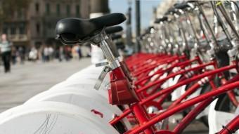 L'abonament anual del Bicing continuarà costant 47,16 euros a l'any Foto:JOSEP LOSADA