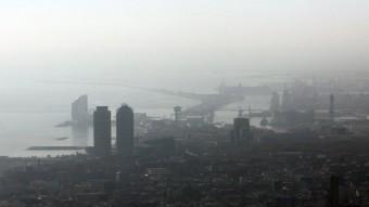 Vista panoràmica de la ciutat de Barcelona Foto:ACN