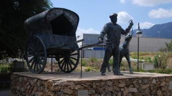 Monument al Tio Pep. Foto:B. SILVESTRE