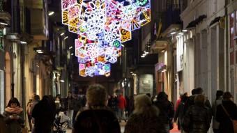 Els comerços catalans podran obrir cinc festius durant la campanya de Nadal Foto:JOAN SABATER