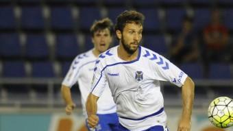 Germán, en un partit d'aquesta temporada amb el Tenerife Foto:EL DIA