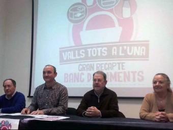 Ajuntament i entitats han fet la presentació de la campanya solidària que es desenvolupa aquesta setmana a Valls Foto:EPN
