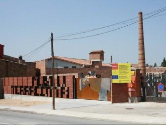 L'entrada, al Terracota Museu de la Bisbal després de la reforma . Foto:JOAN PUNTÍ