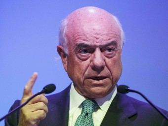 Francisco González, cap del BBVA Foto:REUTERS