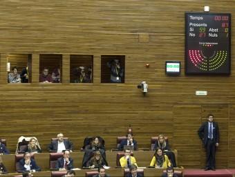 Les Corts han aprovat la reforma del seu reglament. Foto:AGÈNCIES
