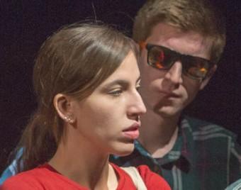 Els protagonistes, en un moment de l'obra Foto:JOAN CASTRO / ICONNA