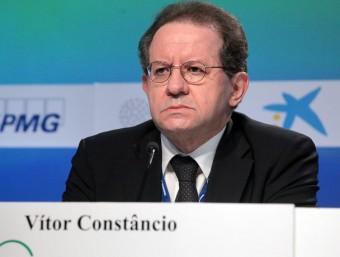 Vítor Constancio, vicepresident del BCE, al maig passat, en las jornades del Cercle d'Economia Foto:J.FERNÁNDEZ / ARXIU