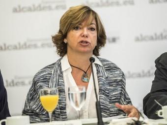 La conseller de governació, Meritxell Borràs, en una imatge recent Foto:JOSEP LOSADA