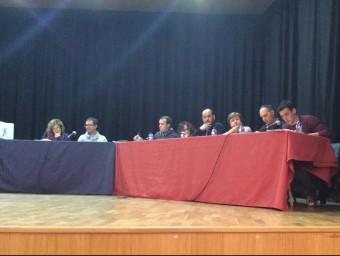 Sessió plenària de la Corporació de Castelló de Rugat. Foto:EL PUNT AVUI