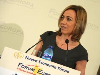 La candidata del PSC a les eleccions del 20-D, Carme Chacon Foto:ACN