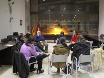 Reunió de la Comissió Ciutadana. Foto:M. CAMPOS