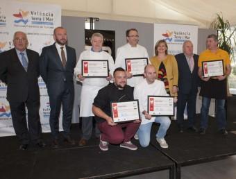 Premiats al concurs gastronòmic de Bocairent. Foto:B. SILVESTRE