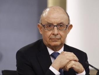 El ministre Montoro condiciona el pagament del FLA.  Foto:ARXIU