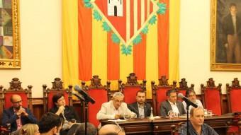 L'alcalde Ballart va reclamar al ple informació a Mina Foto:J.A