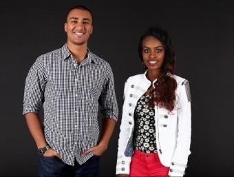 Eaton i Dibaba , els dos protagonistes atlètics del 2015 Foto:IAAF