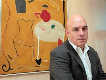 L'escriptor andorrà Albert Villaró, guanyador del Premi Prudenci Bertrana 2015, presentarà la novel·la dijous vinent a Girona acompanyat de Rafel Nadal Foto:JOAN SABATER