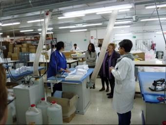 """Interior d'una de les empreses adherides a """"El trèvol"""". Foto:EL PUNT AVUI"""