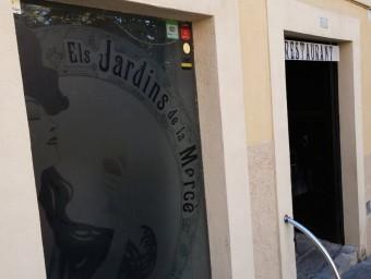 L'establiment està situat a la Pujada de la Mercè, al Barri Vell de Girona Foto:ÒSCAR PINILLA