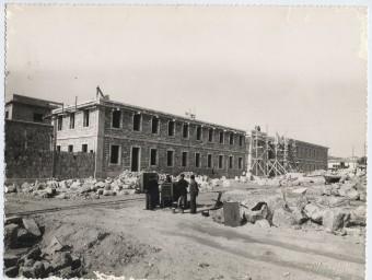 Obres de la construcció de la presó de Tarragona Foto:EL PUNT AVUI