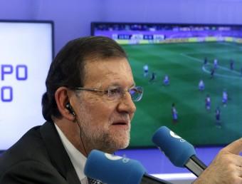 Mariano Rajoy, dimecres a la Cope. Foto:EFE
