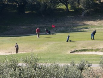 El pla Mas d'en Sorder afecta els terrenys al sud del camp de golf Costa Daurada, al costat del Catllar Foto:ARXIU / T.M