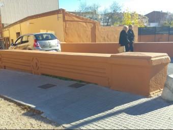 El pont del carrer Passada de Malgrat és un dels punt s amb major afluència de vehicles del municipi Foto:T.M