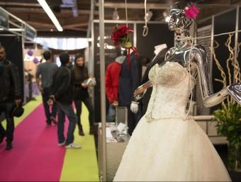 El Saló Tot Nuvis s'hi pot trobar tot el que es necessita per a un casament però també per a tota mena de celebracions. Foto:GLÒRIA SÁNCHEZ / ICONNA