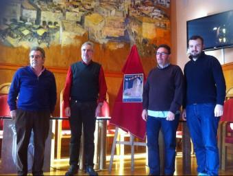 Organitzadors i responsables municipals van presentar ahir una cita que compta amb perspectives d'agafar impuls Foto:EPN