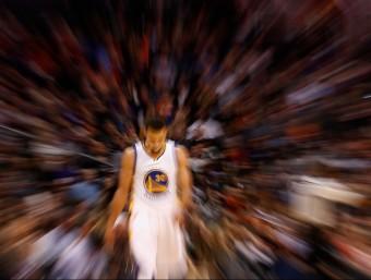 Curry és el centre de totes les mirades Foto:AFP