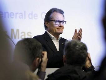 Artur Mas en l'acte de CDC Foto:EFE