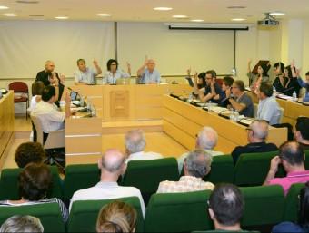 Plenari de la Corporació de Paiporta. Foto:EL PUNT AVUI