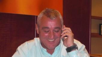 Poli Rincón, exjugador de futbol i ara comentarista radiofònic. Foto:L'ESPORTIU