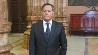El president de l'Audiència de Girona, Fernando Lacaba Foto:E.P