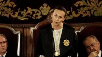 Pilar de la Oliva optarà a la reelecció per a la presidència del TSJ. Foto:ARXIU