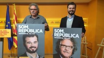 Joan Tardà i Gabriel Rufián Foto:EP