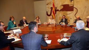La reunió del consell executiu d'aquest dimarts 1 de desembre Foto:ACN