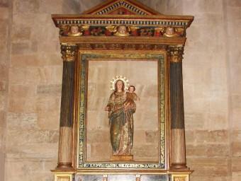 El retaule renaixentista es pot tornar a veure des de fa unes setmanes a santes Creus Foto:EPN