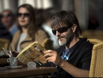 L'il·lustrador està dirigint una pel·lícula de les seues tires còmiques. Foto:EFE