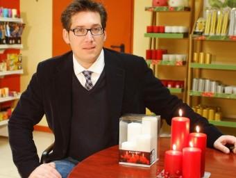 Miquel Roura director d'exportació a la seu de l'empresa a Figueres. Foto:EL PUNT AVUI
