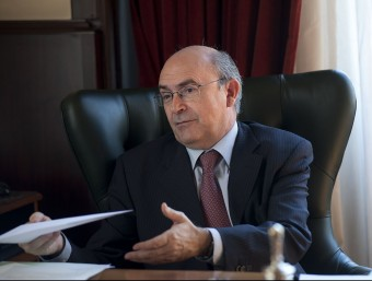 Miguel Ángel Gimeno, actual president del TSJC