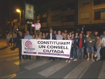 Pancarta amb un dels eslògans de la campanya electoral del 24M. Foto:ESCORCOLL