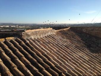Exterior de la teulada de l'antic hospital d'Altafulla, recentment rehabilitada Foto:INFOCAMP