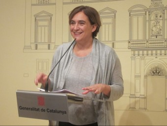 L'alcaldessa de Barcelona, Ada Colau Foto:ARXIU