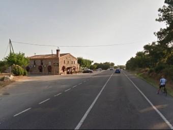 L'Hostal Cal Coix és una de les propietats més afectades pel projecte. Foto:EL PUNT AVUI