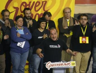 Jornada de treball de la CUP a Manresa. Foto:ORIOL DURAN