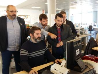 El conseller Marxà a Patronat d'Esports de Castelló de la Plana. Foto:EL PUNT AVUI