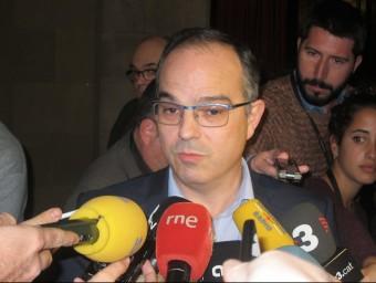 """Turull demana a la CUP que digui """"si vol acord o no"""" Foto:EUROPA PRESSS"""