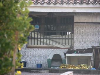 La casa de la urbanització Àgora Parc de Tordera on ha mort una dona com a conseqüència d'un incendi Foto:ACN/L.V