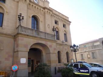 Imatge d'arxiu de la façana de l'edifici de l'Ajuntament de Vilassar de Dalt Foto:T.M