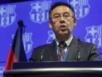 Josep Maria Bartomeu. Foto:EFE